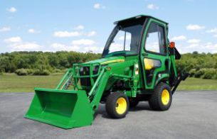 compact tractor cab